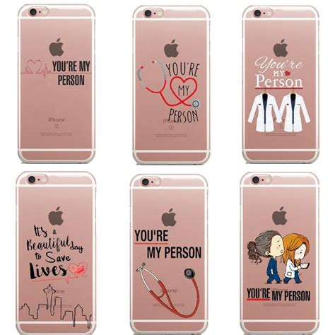 Aliexpress.com : Buy Greys Anatomy You are my person Phone