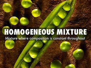 Homogeneous mixture by gonzjose7346