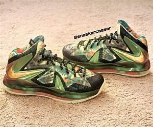 Nike LeBron 10 Championship Pack 'Reverse' Sample | Sole ...