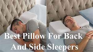 Best pillow for back and side sleepers youtube for Best down pillow for back sleepers