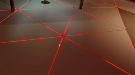 pixel  floor lights kinetic lights