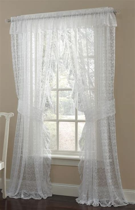 white lace curtains 45 best lace curtains images on lace curtain