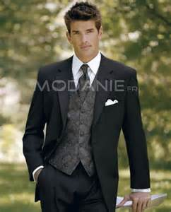 tenue de mariage homme dã contractã costume homme élégant deux boutons en tissu satin beau gilet m1408206766 modanie
