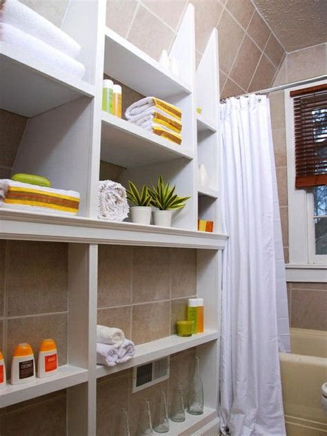 Small Bathroom Storage Ideas  For The Home  Pinterest