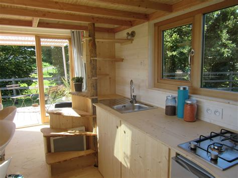2 Tiny Häuser Verbinden by La Tiny House Tiny House Builder In