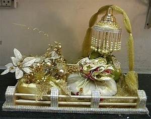 wedding decorative trays and packing ideas on pinterest With gift wrapping for indian wedding