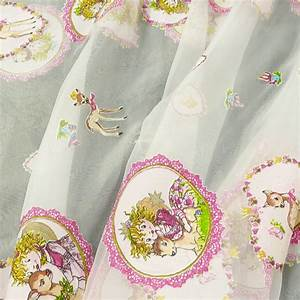 Gardinenstoffe Ausbrenner Meterware : rasch gardinenstoff organza ausbrenner prinzessin lillifee mit reh wei pink rosa 300cm ~ Eleganceandgraceweddings.com Haus und Dekorationen