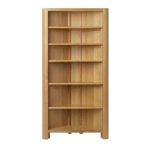 zinc top dining table uk corner bookcase oak oak narrow corner bookcase 242172