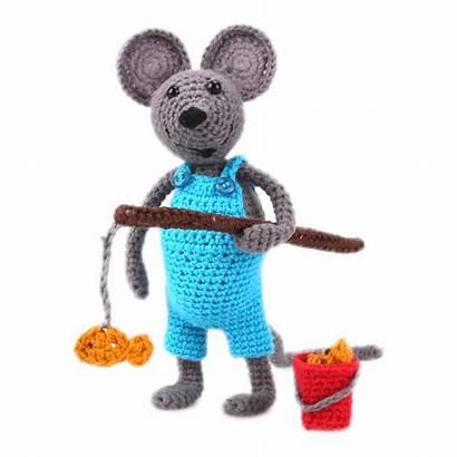 Amigurumi Souris Kit Arno Crochet Handmade Mouse