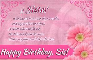 Happy Birthday quotes for Sister gifts images - This Blog ...