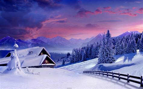 Beautiful Winter Backgrounds  Wallpaper Cave