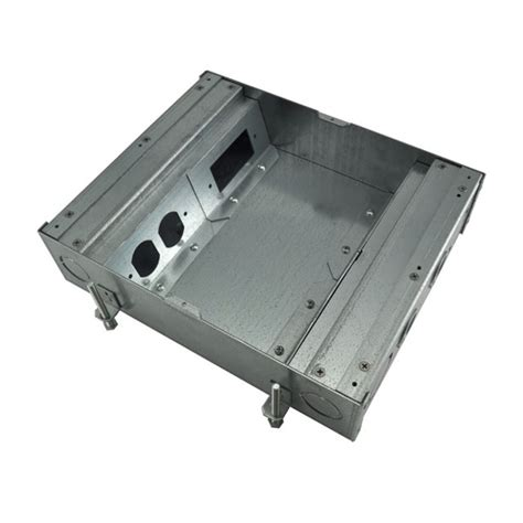 Wiremold Fsr Floor Box by Fsr Fl500p3b Fl 500p Floor Box Bottom 3in Depth 4x1