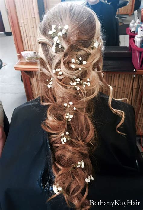 prom hair styles updos long  straight extensions