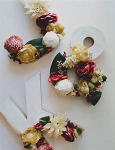 diy floral marble letters green wedding shoes With marble letters decor