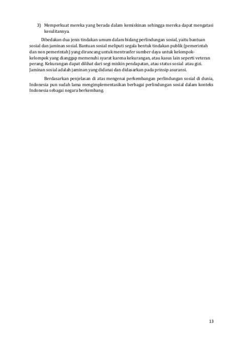 Analisis data kemiskinan di indonesia 2013