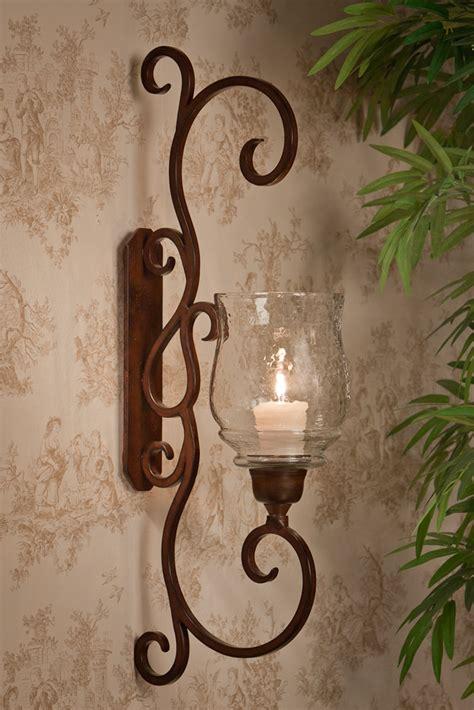 dessau home bronze flare scroll sconce home decor
