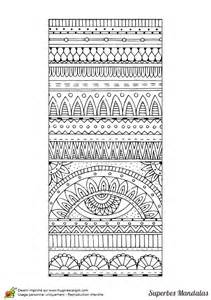 Dessin Tapis by Coloriage D Un Superbe Mandala Avec Une Forme De Tapis