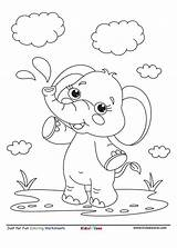 Elephant Coloring Sheet sketch template