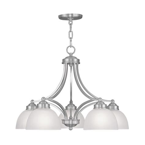 style selections 18 light brushed nickel chandelier 28