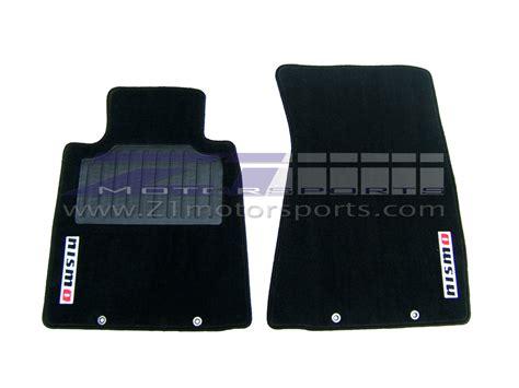 floor mats nissan 370z nismo 370z floor mats z1 motorsports