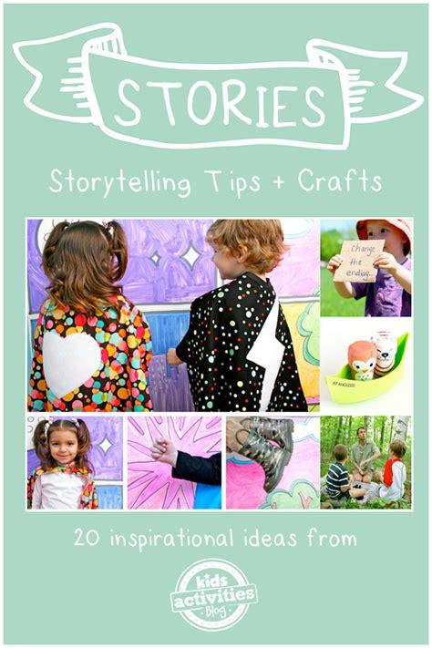 20 Storytelling Crafts & Tips For Kids