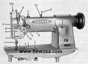 How To Troubleshoot A Consew Sewing Machine  5 Steps