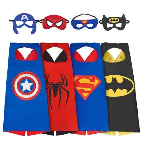 Eenten The Avengers 4 Sets/Lot Superhero capes Dress Up