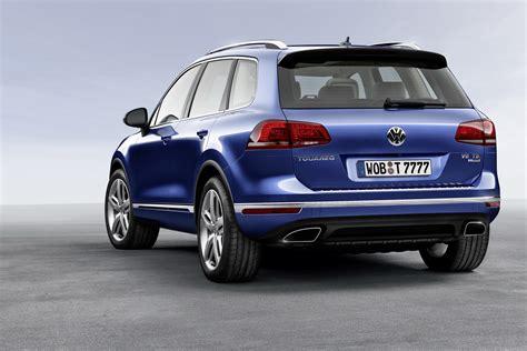 Volkswagen Touareg : 2015 Volkswagen Touareg Facelift Brings New Features