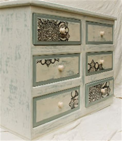 Furniture And More by Vintage Shabby Chic Chest Of Drawers Touch The Wood