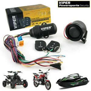 Viper Alarm Way Security System Motorcycle Powersports