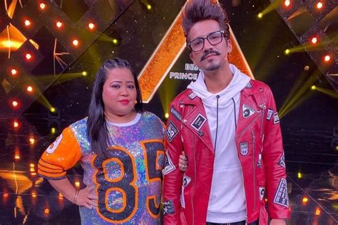 Comedian Bharti Singh and Husband Haarsh Limbachiyya ...