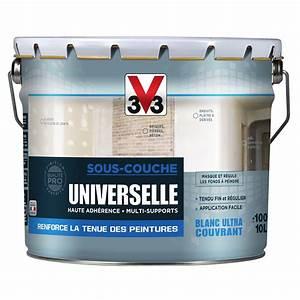 Peinture Sans Sous Couche : sous couche universelle sous couche universelle v33 mat ~ Premium-room.com Idées de Décoration