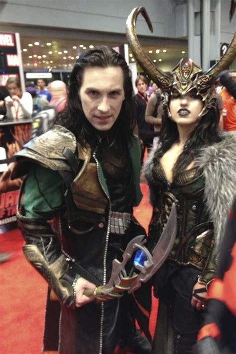 Fantasy Cosplay Marvel Loki Lady Loki New York Comic