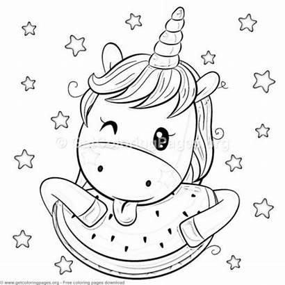 Unicorn Coloring Einhorn Ausmalbilder Zum Ausdrucken Cartoon