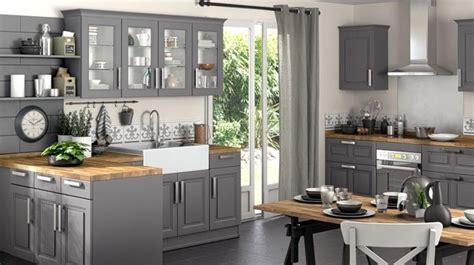 cuisine gris et bois cuisine grise et bois top cuisine