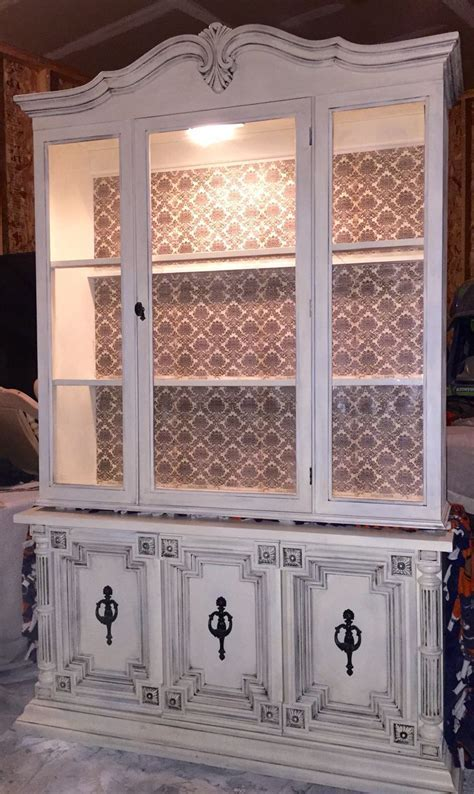Refurbished hutch by Ashley Kettering   the Kozy abode