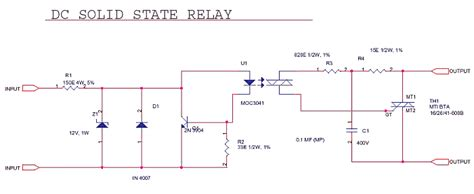 Schematics Delabs Solid State Relay Common
