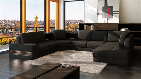 grand canape en u canap 233 panoramique grace design personnalisable pas cher