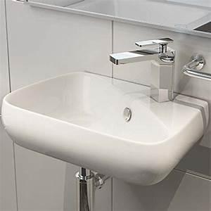 Aufsatzwaschbecken Gäste Wc Klein : keramik aufsatzbecken waschbecken waschtisch waschschale wandmontage g ste wc h91 ~ Indierocktalk.com Haus und Dekorationen