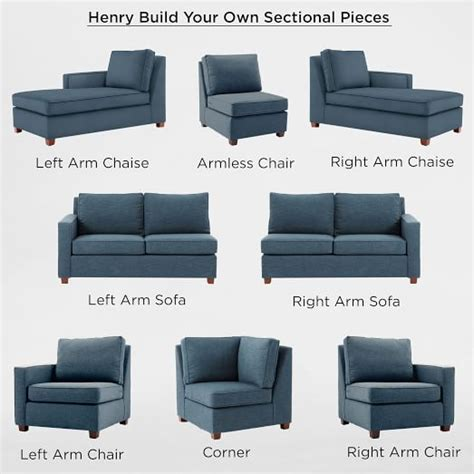 rooms to go build your own sofa build your own henry sectional pieces natural linen