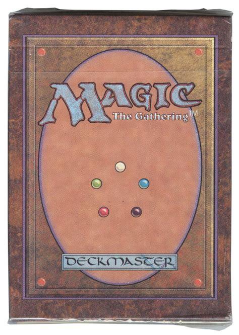 Mtg Alpha Starter Deck Ebay magic mtg alpha starter deck factory sealed vintage