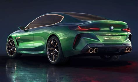 Sleek New Bmw Concept M8 Gran Coupé Unveiled!