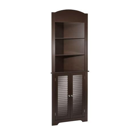 Corner Etagere Cabinet by Riverridge Home Ellsworth 23 25 In W Freestanding