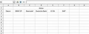 Rendite Berechnen Excel : korrelation mit openoffice calc berechnen aktienstrategien ~ Themetempest.com Abrechnung