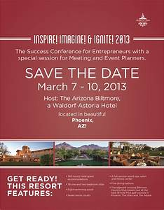 Please save the date march 7 10 2013 for the success for Conference save the date template