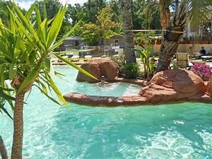 la piscine du camping l39oasis palavassienne a palavas With camping palavas les flots avec piscine