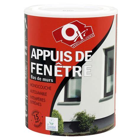 renover ma cuisine peinture appui de fenêtre oxytol blanc 1 l leroy merlin