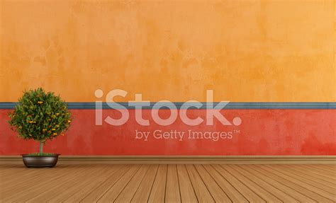 colorful empty vintage room stock  freeimagescom