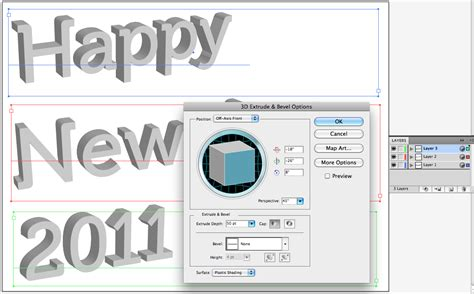 Making A 3d New Year Wallpaper In Photoshop Scott