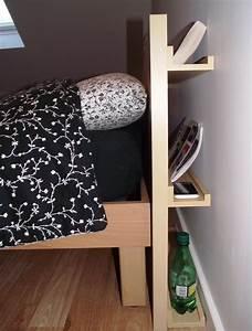 Tete De Lit Simple : une t te de lit diy simple et bien rang e bidouilles ikea ~ Nature-et-papiers.com Idées de Décoration